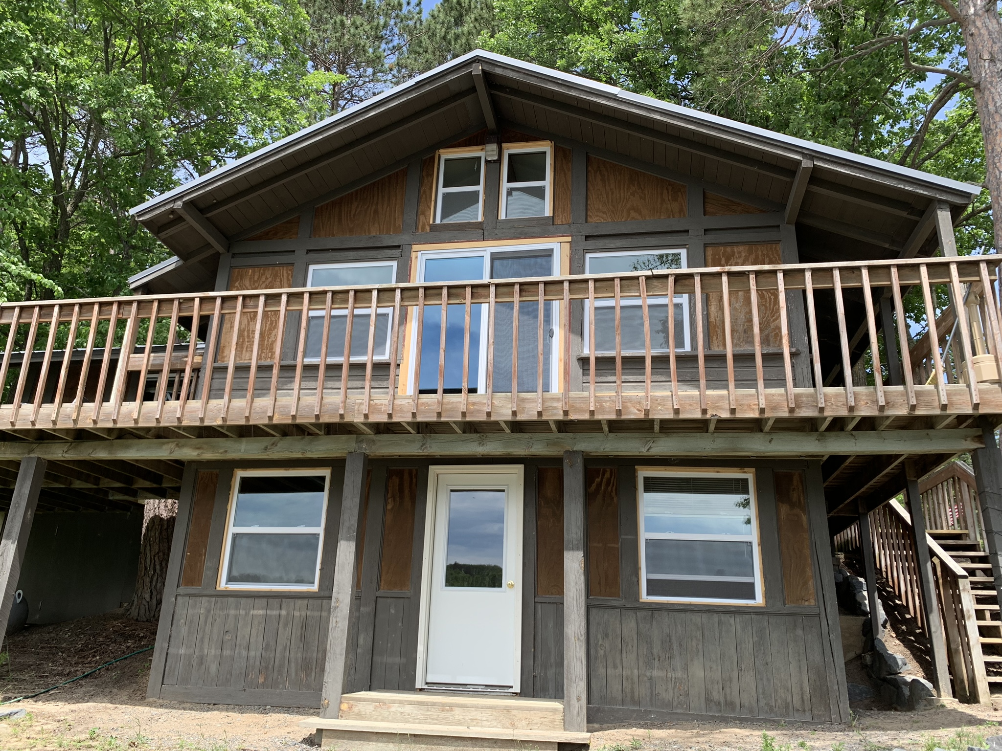 The Cabin front view
