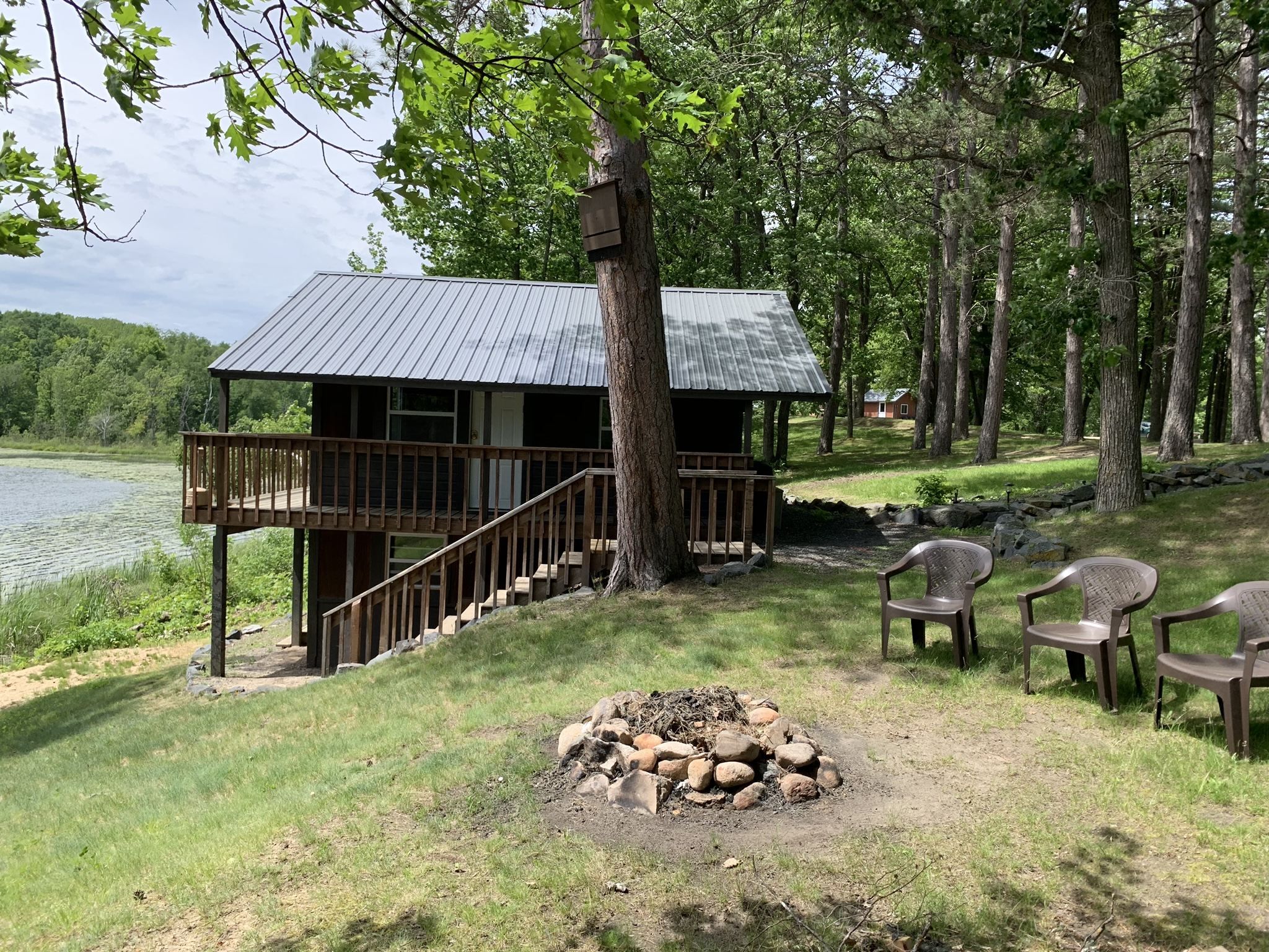The Cabin side view