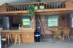 The Cabin Kitchen/Dining