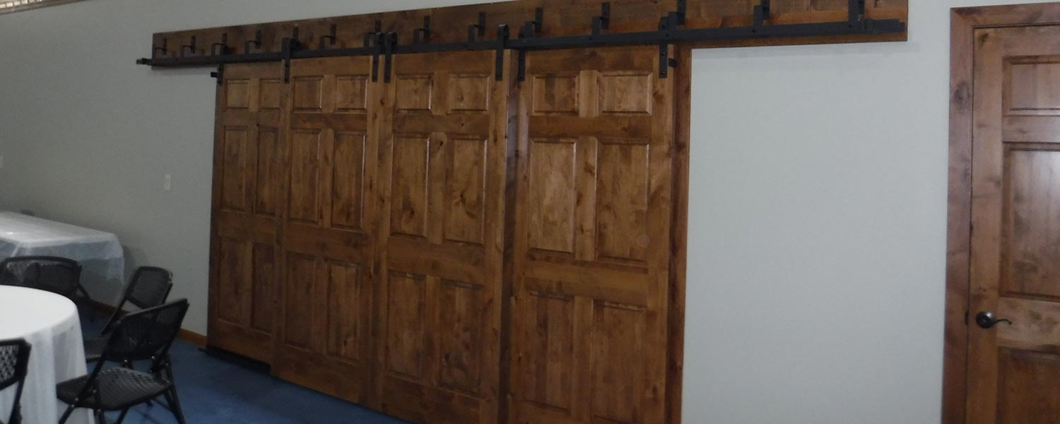 Event Center Barn Doors