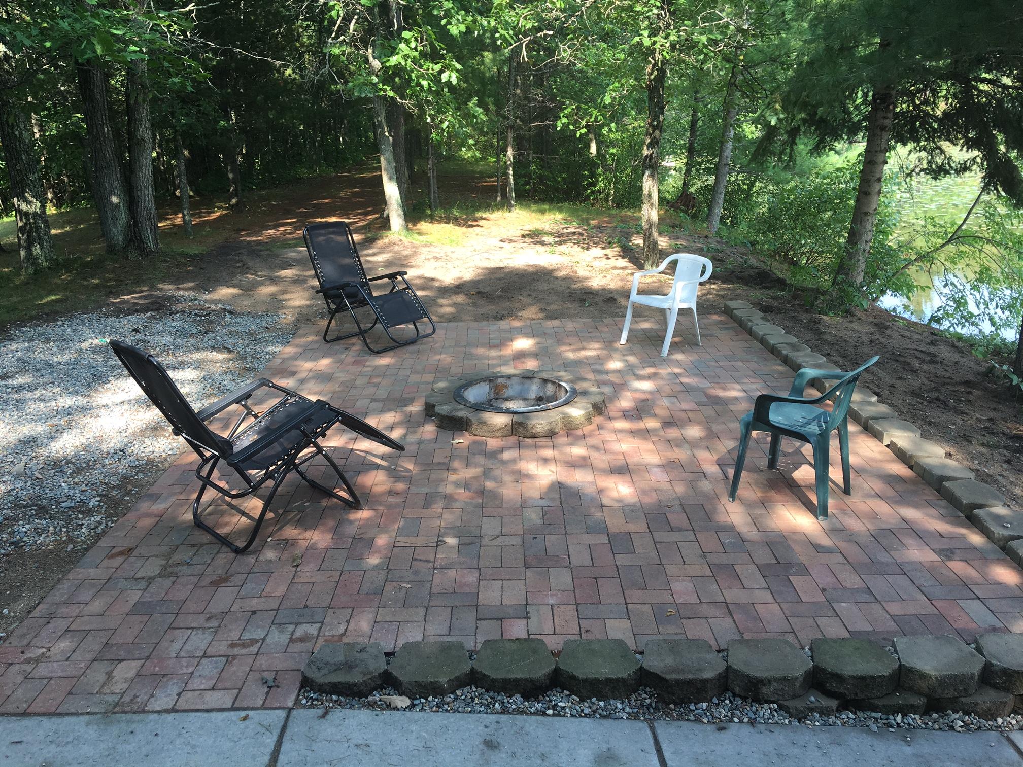 Bliss House Backyard Patio