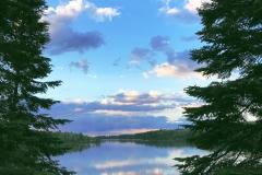 Lodge Lake View