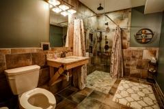 Bliss House Main Floor Bathroom