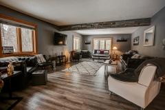 Bliss House Main Floor Living Room