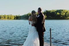 Couple on Lodge Dock