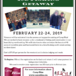 2019 Camp Bliss Retreat Flyer-Vietnam Vets Ice Fishing