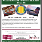 2019 Camp Bliss Retreat Flyer-Vietnam Vets R&R